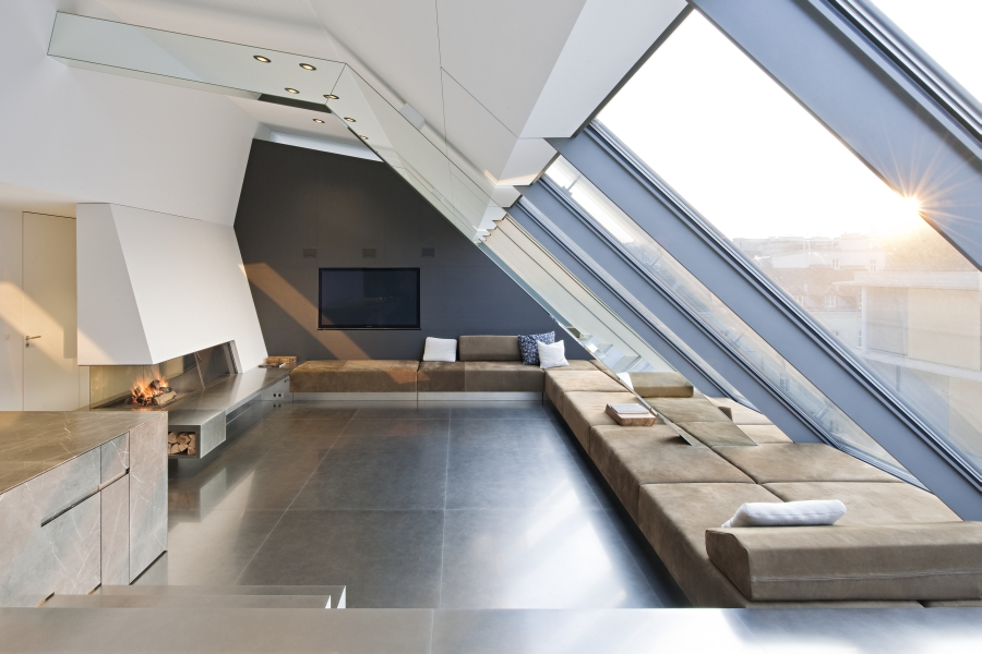 Penthouse Wien - Hoba Steel SPIN PLAN